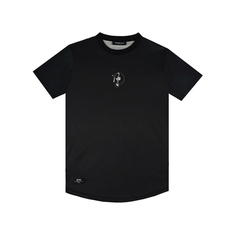 amongst few x Reasonable Doubt - Arabic Vinyl Font Jersey (Black)