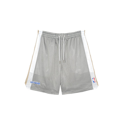 amongst few x NBA - Home Shorts (Grey/White/Gold)