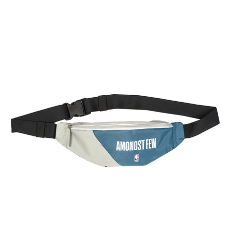 amongst fee x NBA - Home Waist Bag (Grey/White/Blue)