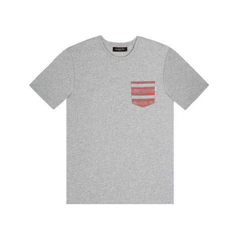 amongst few - Ghotra Pocket T-Shirt (Grey)
