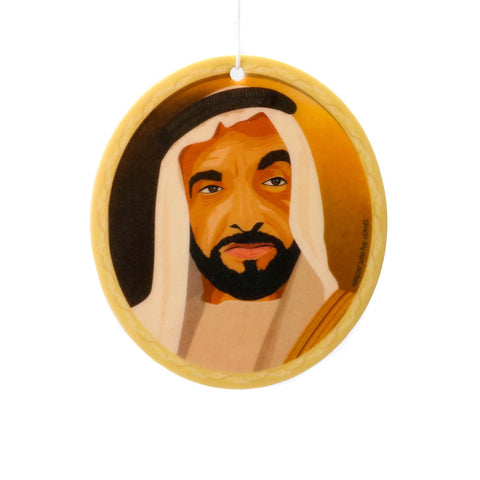 amongst few x Hangin' With The Homies - Baba Zayed Air Freshener (Visionary Vanilla)