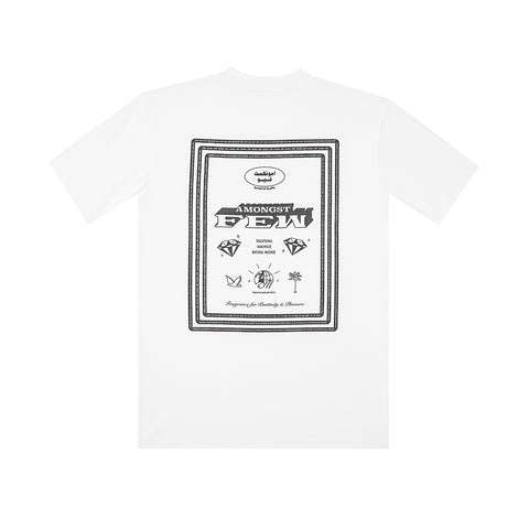 amongst few - Fragrance T-Shirt (White)