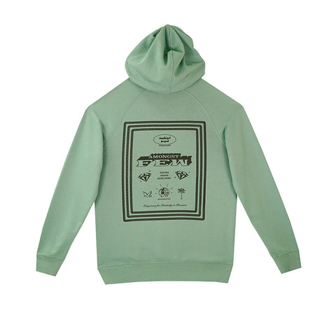 amongst few - Positivity Hoodie (Sage)