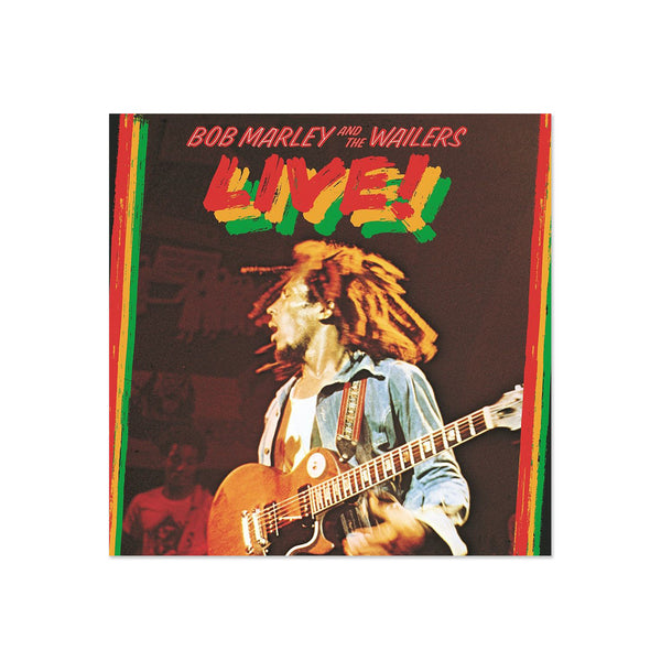 Bob Marley and The Wailers - LIVE (LP)
