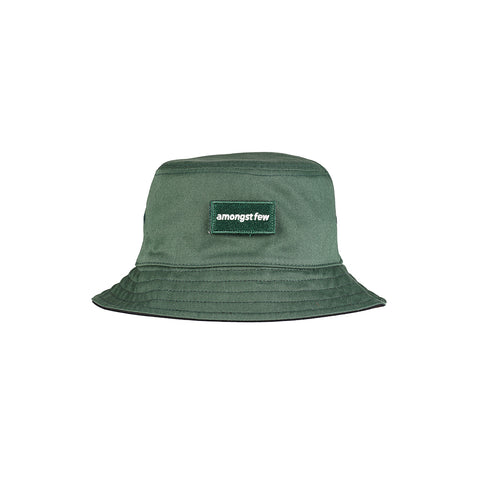 amongst few - Forever Reversible Bucket Hat (Green/Black)