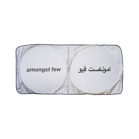 amongst few - Windshield Sun Shade (Silver)