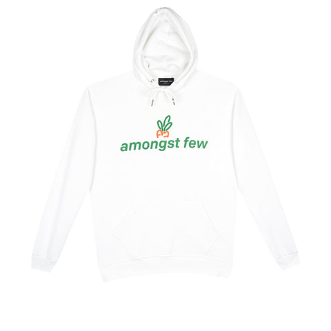 amongst few x Carrots - Wordmark Hoodie (White)