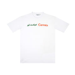 amongst few x Carrots - Wordmark T-Shirt (White)