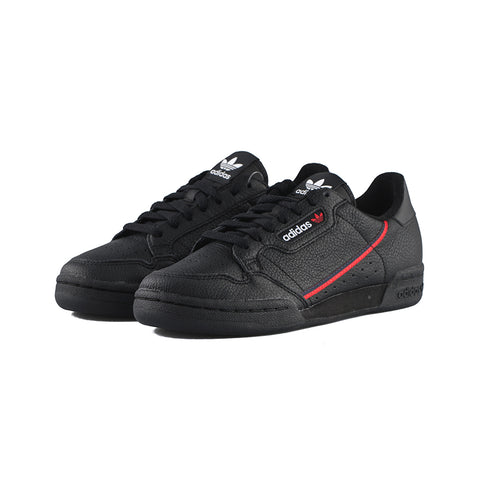 adidas Originals - Continental 80 (Core Black/Scarlet/Collegiate Navy)