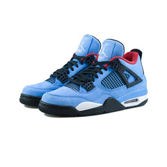 Air Jordan 4 Retro 'Cactus Jack' (University Blue/Black)