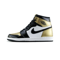 Air Jordan 1 Retro High OG 'Gold Toe' NRG (Black/Black-Metallic Gold)