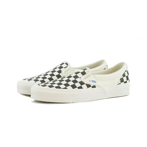 Vans - OG Classic Slip-On Canvas (Blk/Wht Chckrbrd)