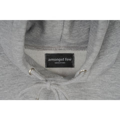 amongst few x Felt - Butter Stencil Hoodie (Grey)