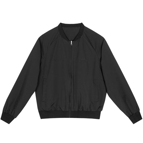 amongst few - Reversible & Foldable Jacket (Black)