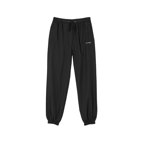 amongst few - Leisure Track Pants (Black)