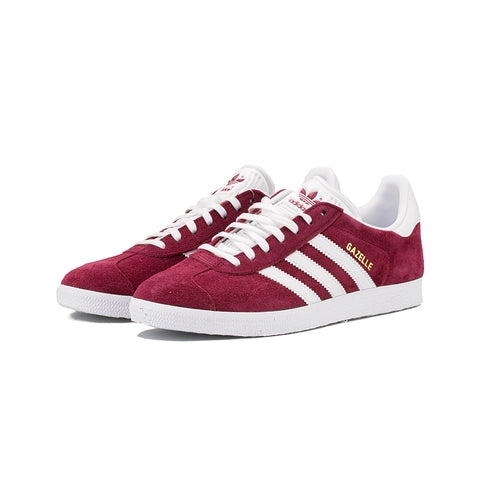 adidas Originals - Gazelle (Burgundy/White/Gold)