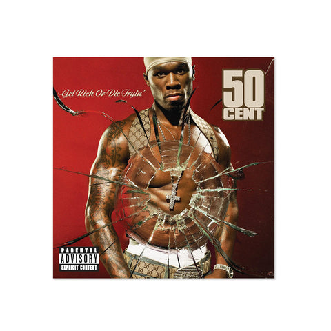 50 Cent - Get Rich Or Die Tryin' (LP)