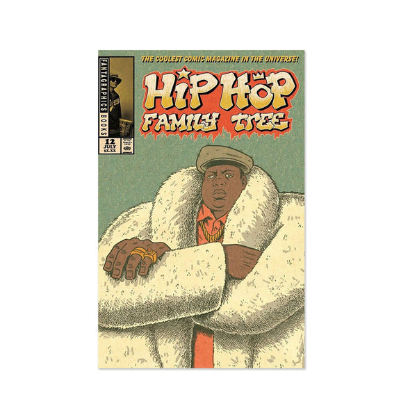 Hip Hop Family Tree - Issue 12 w/ Flexi-Postcard (Comic+Flexi-Disc)