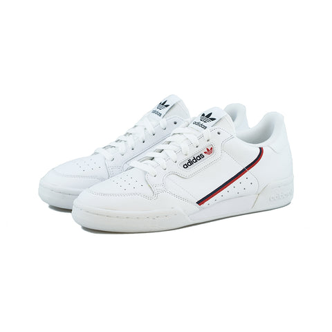 adidas Originals - Continental 80 (FTWR White/Scarlet/Collegiate Navy)