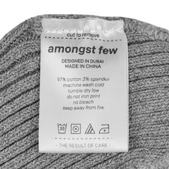 amongst few - Forever Beanie Arabic (Grey)