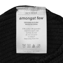 amongst few - Forever Beanie English (Black)