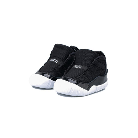 Jordan 11 Crib Bootie (Black/Varsity Red-White)