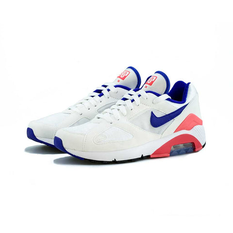 Nike - Air Max 180 (White/Ultramarine-Solar Red)