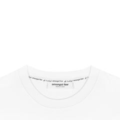amongst few - Hidden Message T-Shirt (White)