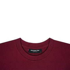 amongst few - 6th Anniversary T-Shirt (Burgundy)