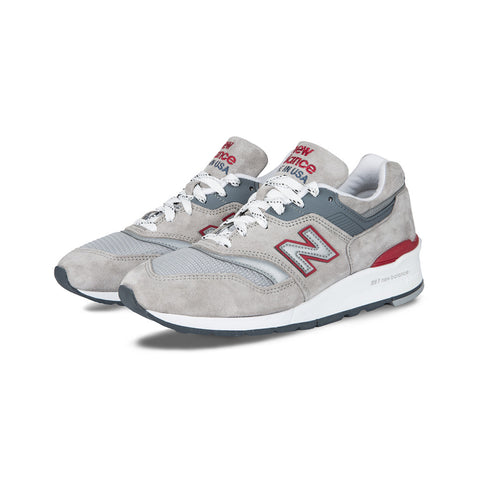 New Balance - M997CGR Made in the USA (Grey/Red/White)