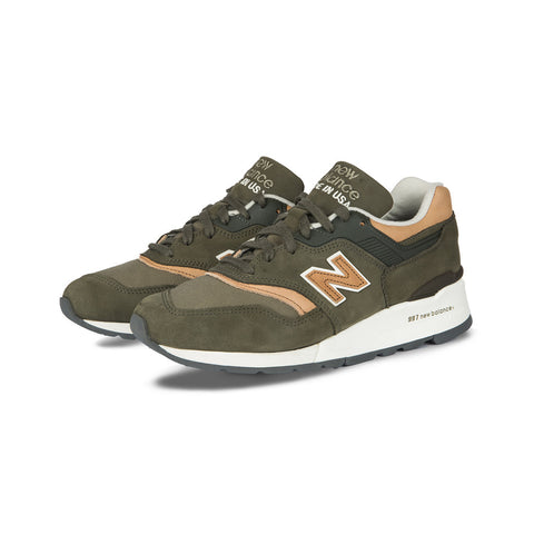New Balance - M997DCS Made in the USA 'Distinct' (Olive/Coral)