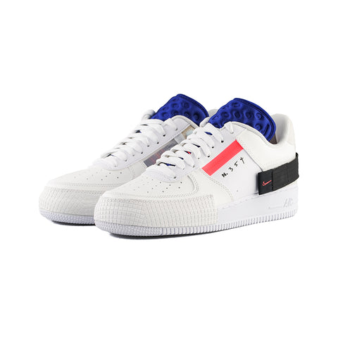 Nike - AF1-Type (Summit White/Red Orbit-White)