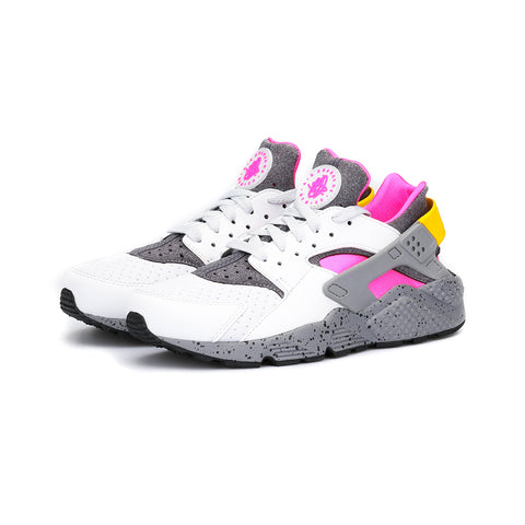 Nike - Air Huarache Run SE (Pure Platinum/Pink Blast/Dark Grey/Pink Blast)