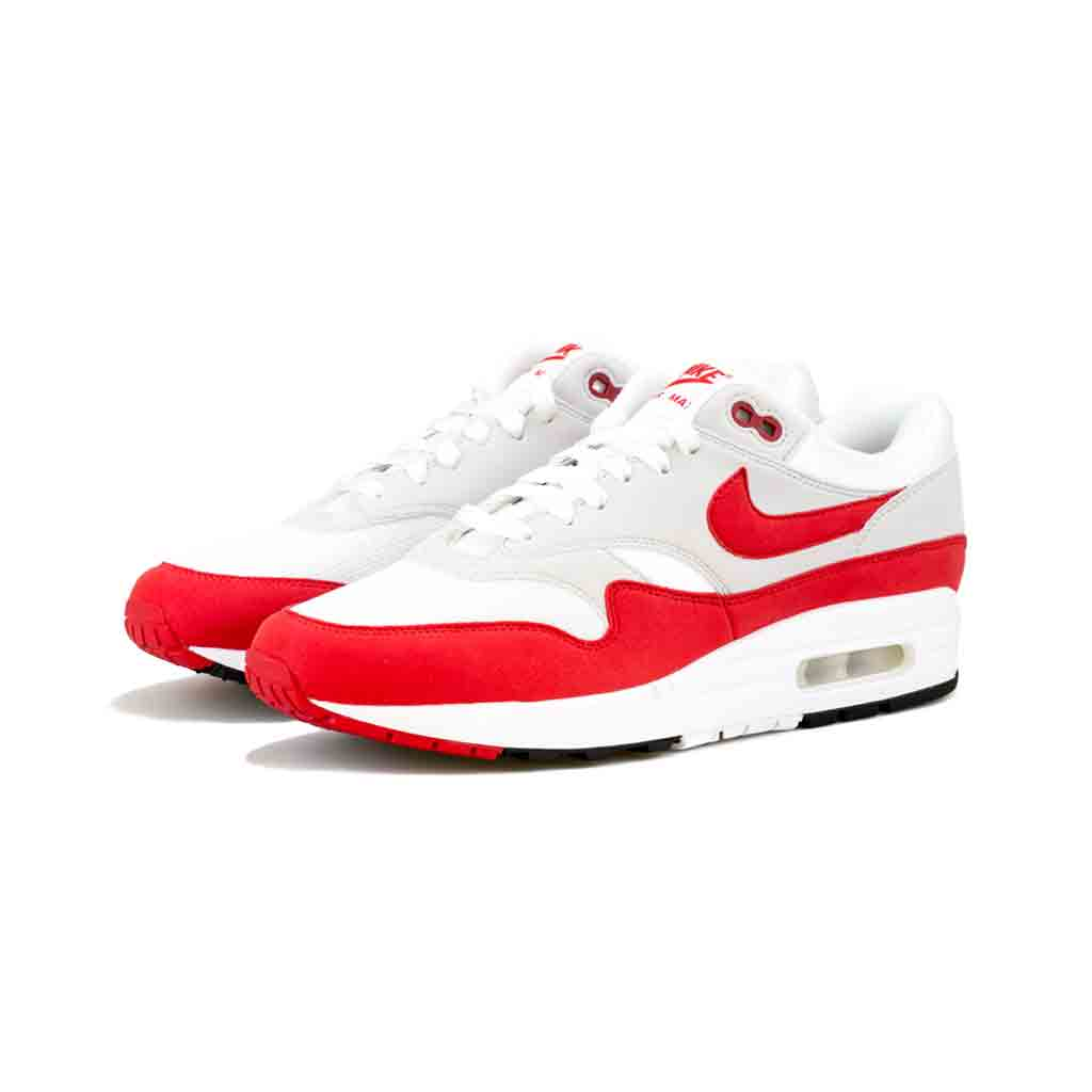 check out d9cb0 282ae Nike - Air Max 1 Anniversary (White University Red) – amongst few
