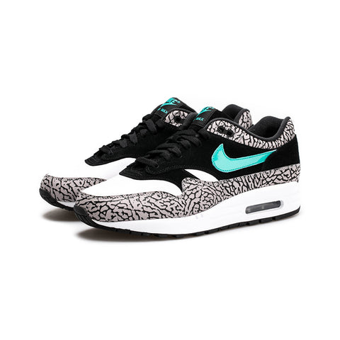 "Nike - Air Max 1 Premium ""Atmos Elephant"" (Medium Grey/Clear Jade-Black)"