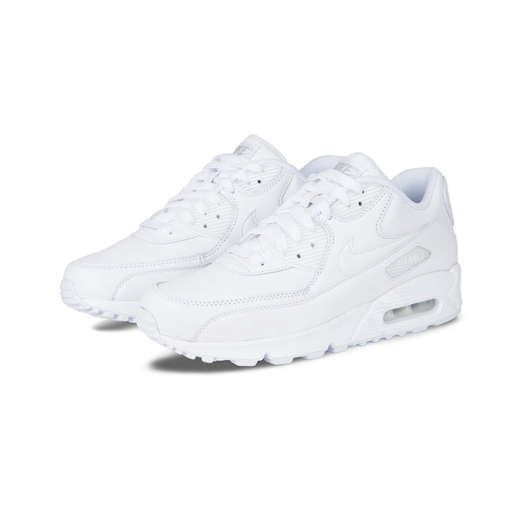 separation shoes 12410 5601d Nike - Air Max 90 Leather (WhiteWhite) – amongst few