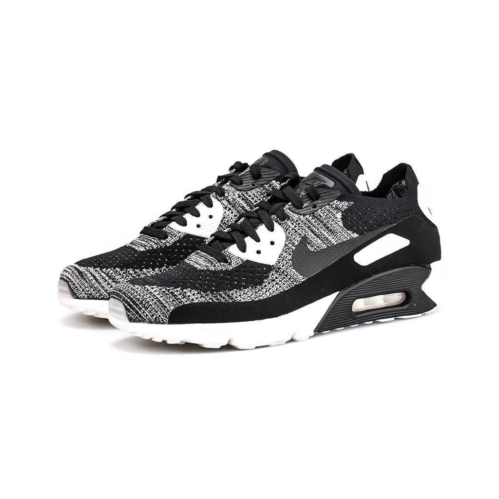 quality design 98d5e a13c1 Nike - Air Max 90 Ultra 2.0 Flyknit (Black/Black-White)
