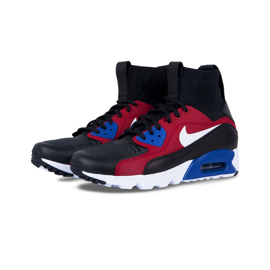 081cee226a3 Nike - Air Max 90 Ultra Superfly  T  (Black White Grey Gris Fonce) –  amongst few