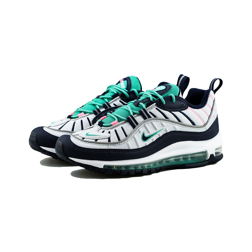 newest ecce0 b5f8b Nike - Air Max 98 South Beach (Pure PlatinumObsidian) – amon