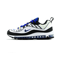 Nike - Air Max 98 'Sprite' (White/Black-Racer Blue-Volt)