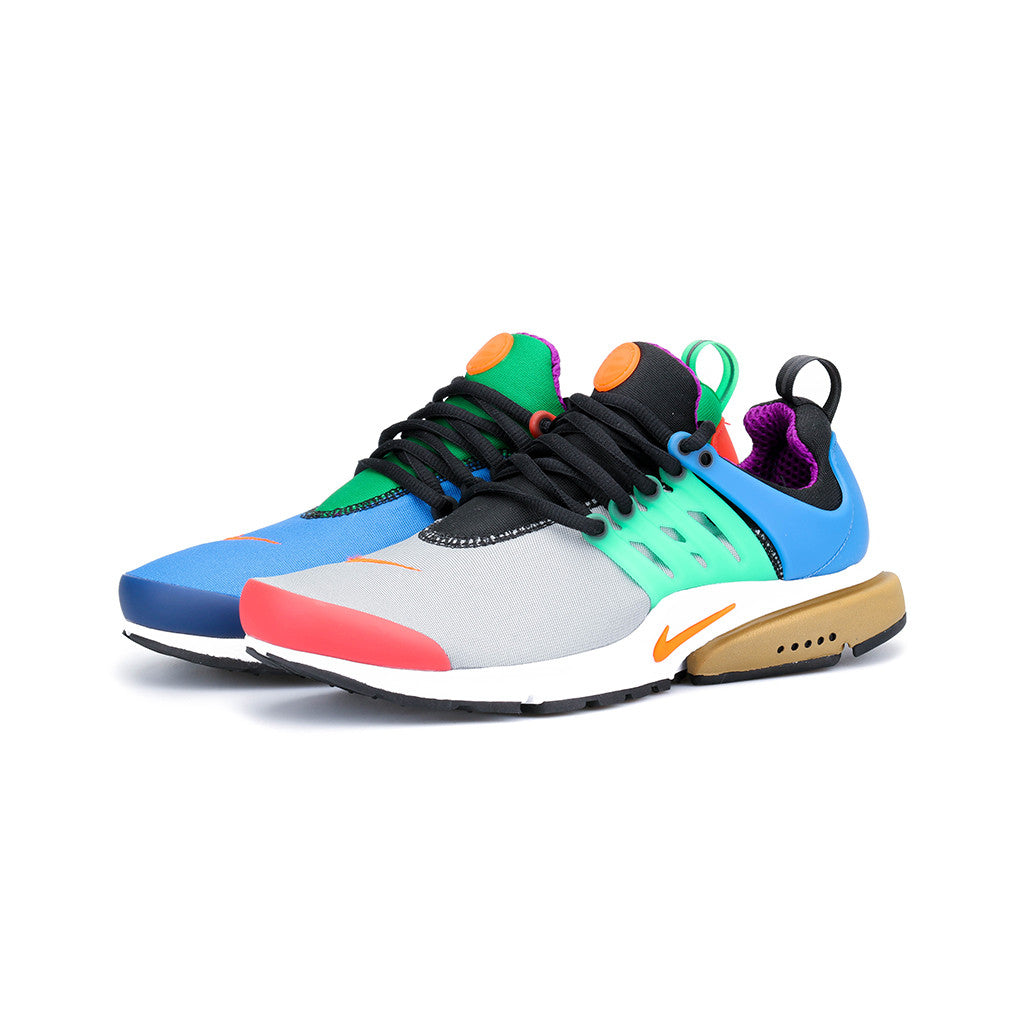 best sneakers quality design special for shoe Nike - Air Presto QS (Star Blue/Black/Pine Green/Orange Blaze)