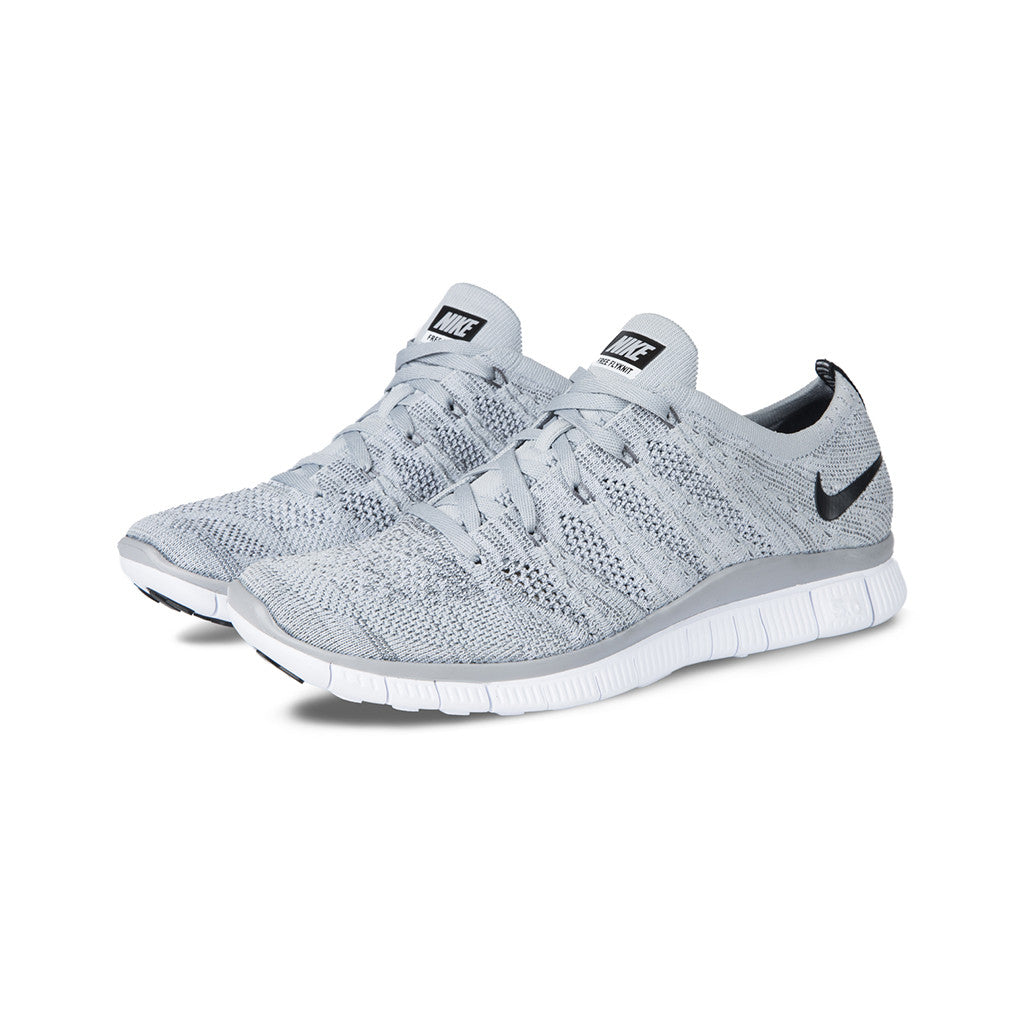 official photos d728e 204f9 Nike.com VN Nike - Free Flyknit NSW (Wolf GreyBlack-Dark GreyWht) ...