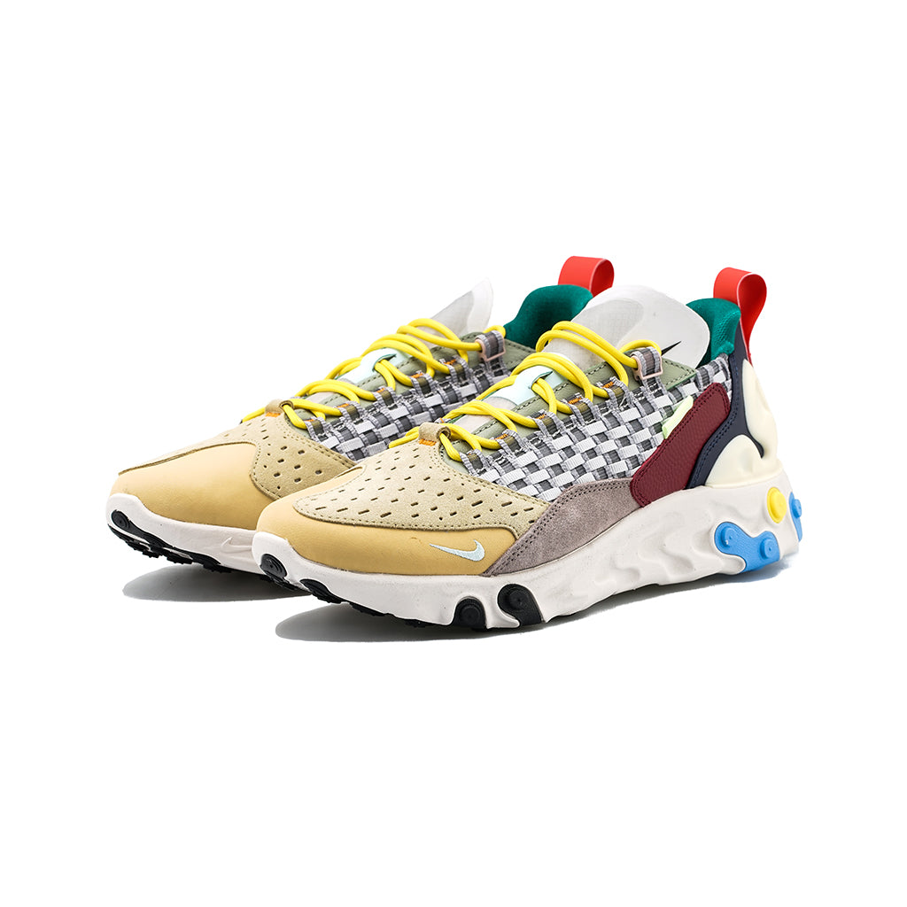 audible Cesta Bocadillo  Nike - React Sertu (Wolf Grey/teal Tint-Pumice) – amongst few