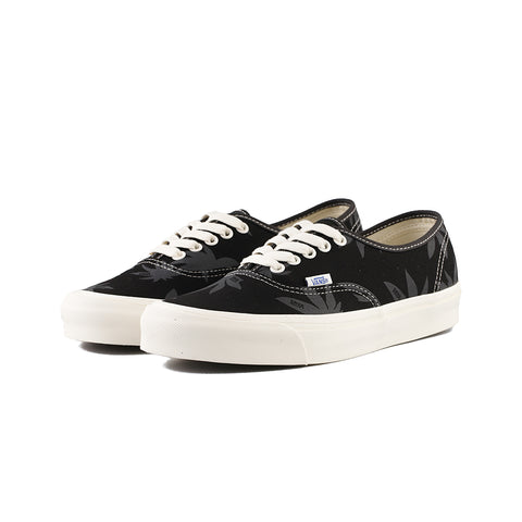 Vans - OG Authentic LX Canvas/Islandleaf (Black/Raven)