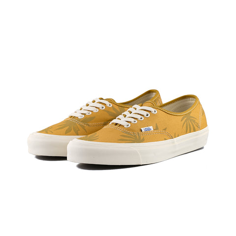 Vans - OG Authentic LX Canvas/Island Leaf (Narcissus/ Gold)