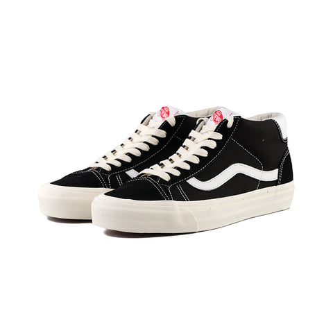 Vans - OG Mid Skool 37 L Suede/Canvas (Black)