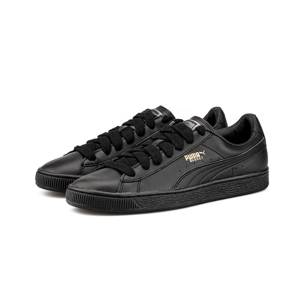 PUMA BASKET CLASSIC LFS 44.5 BLACK/TEAM GOLD