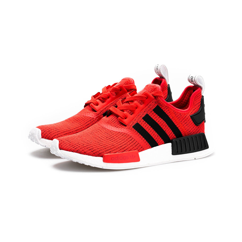 Adidas Originals Nmd R1 Black Core Red White Amongst Few