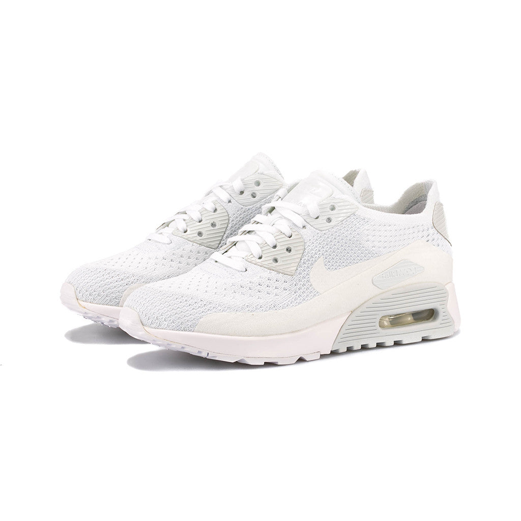 half off 82e55 70981 Nike - W Air Max 90 Ultra 2.0 Flyknit (White/White-Pure Platinum)