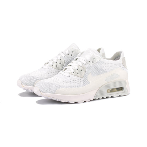 Nike - W Air Max 90 Ultra 2.0 Flyknit (White/White-Pure Platinum)
